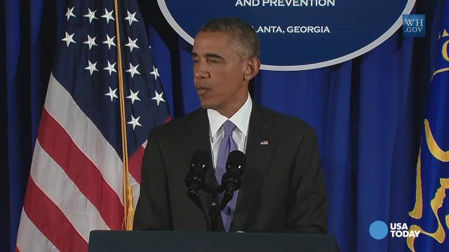 Obama announces plans to keep Ebola away from U.S.