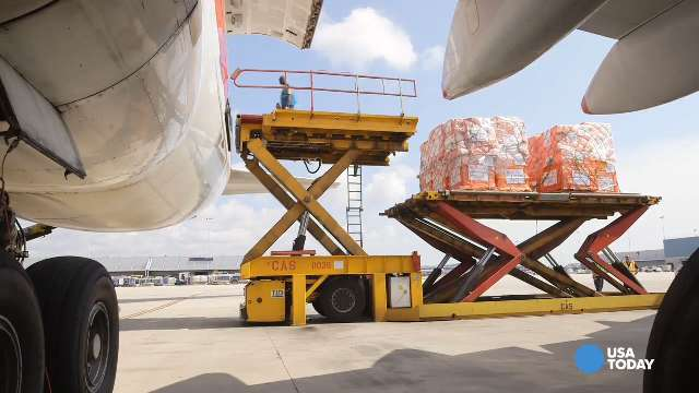 100 tons of Ebola prevention supplies sent from U.S.