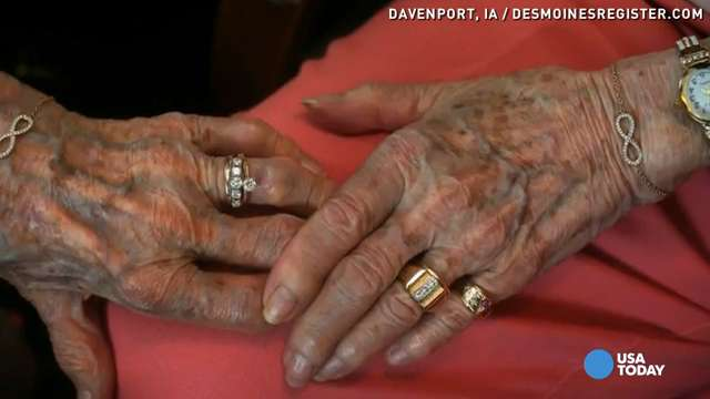 Couple who hid love for 72 years finally marry