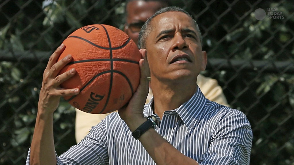 Ranking the President and other celebrity basketball players