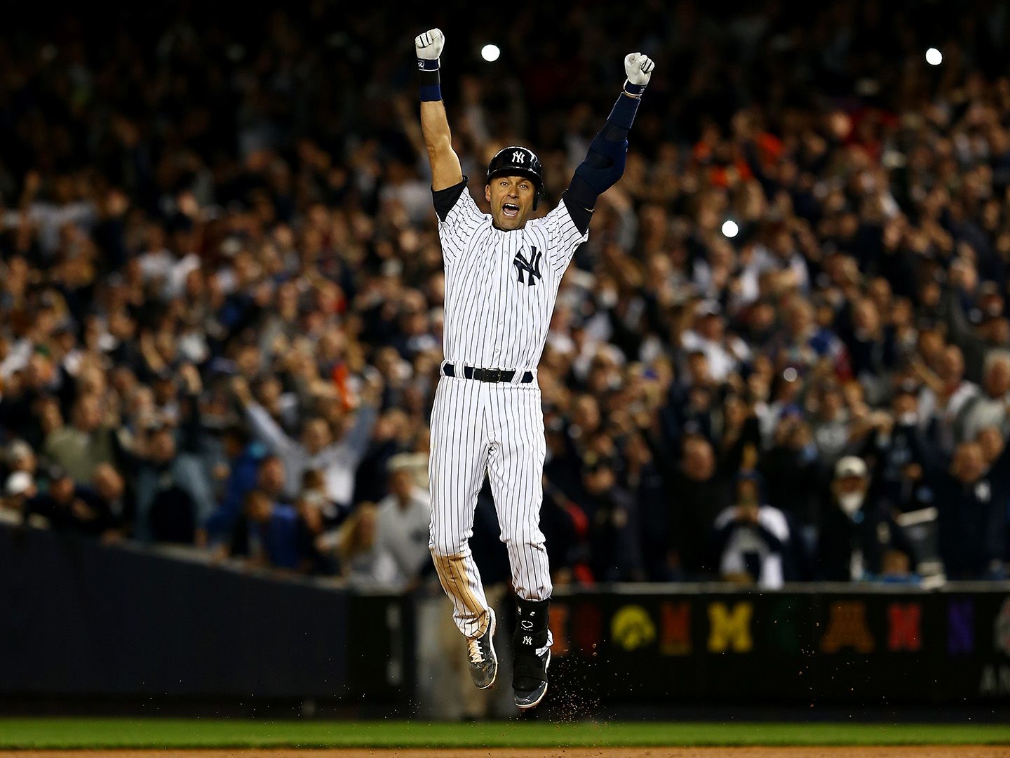 Derek Jeter's final home game