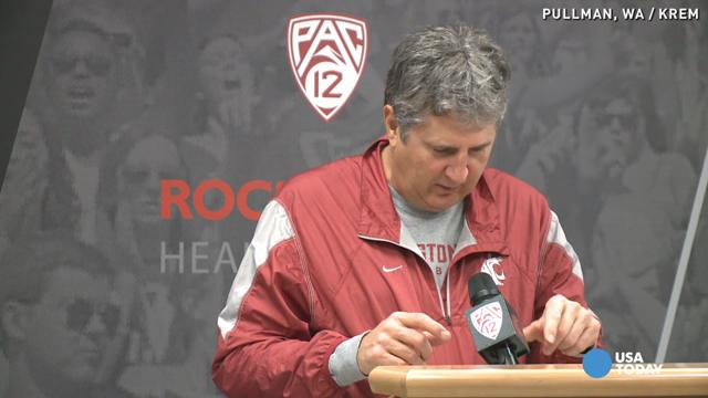 Watch football coach Mike Leach predict end of the world