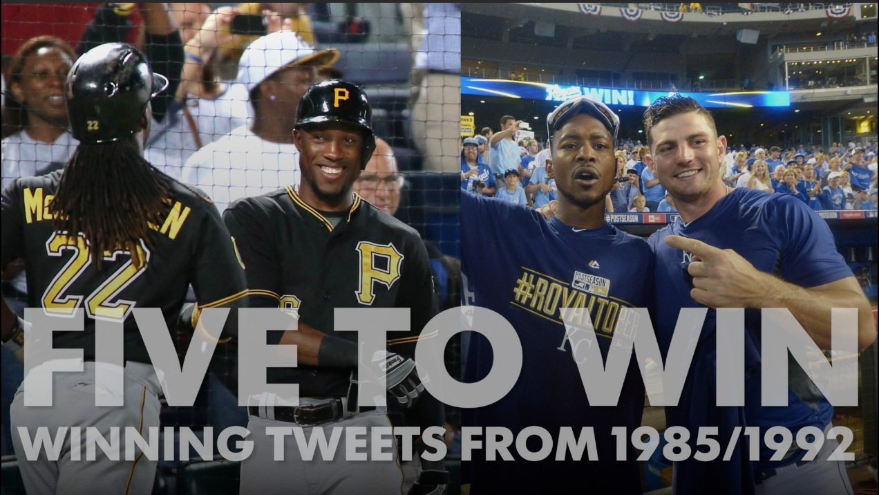 Five to Win: Tweets from last time Royals, Pirates were good