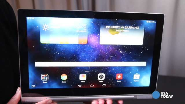 Lenovo unveils Yoga home theater tablet