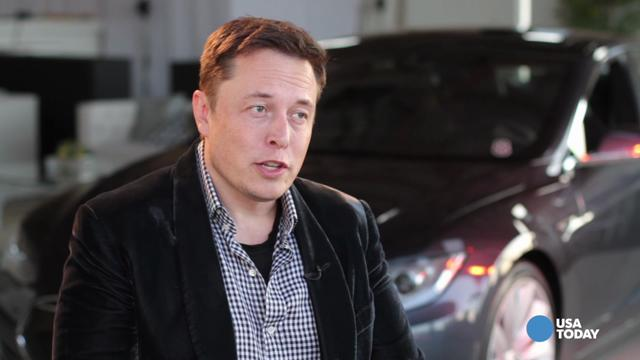 Musk says new Tesla drives itself on highways