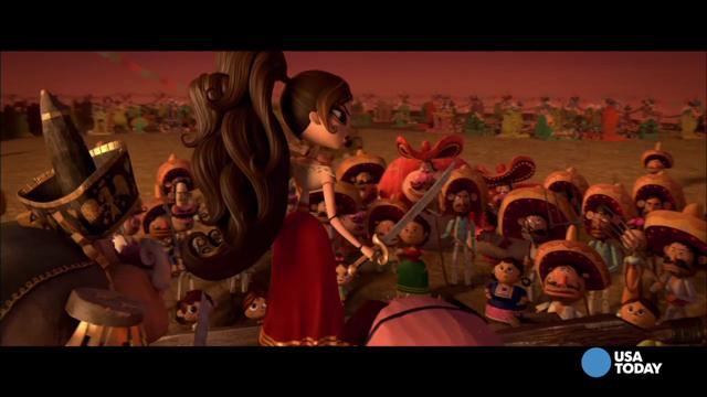 Manolo (voiced by Diego Luna) is a toreador caught in a romantic rivalry.