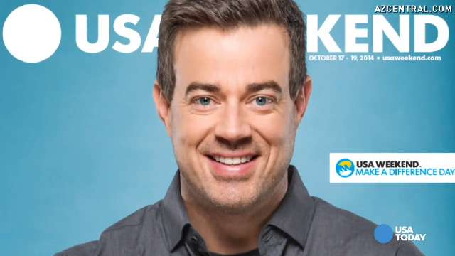 Carson Daly, host of The Voice and Today show.