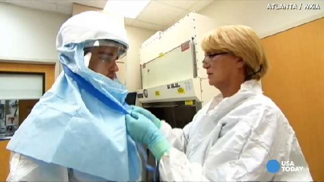 Pentagon building special Ebola support team | USA NOW
