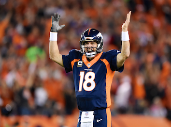 How far will Peyton Manning extend TD record?