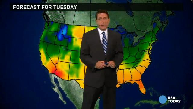 Tuesday's forecast: Developing storm in the East