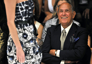 Hollywood remembers Oscar de la Renta