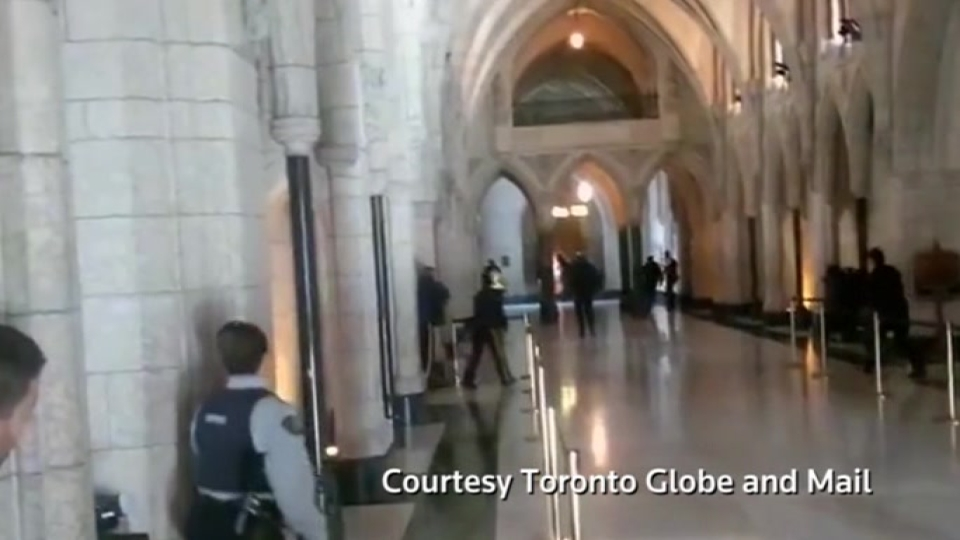 Security remained tight around the Canadian Parliament