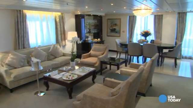 Tour world's first all-suite, all-balcony cruise