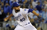 Infante, Herrera help Royals even World Series with Giants