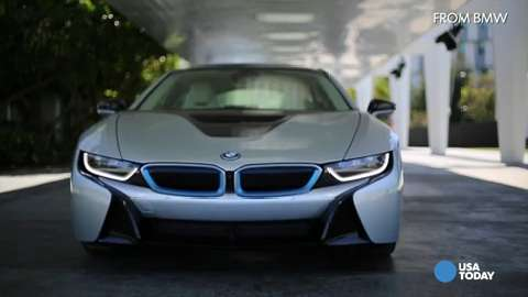 La Auto Show Bmw S I8 Plug In Sports Car Gets More Zip