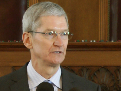 Apple CEO challenges home state on LGBT rights