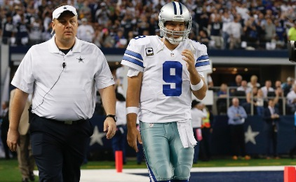 Can Cowboys keep winning with Tony Romo ailing?