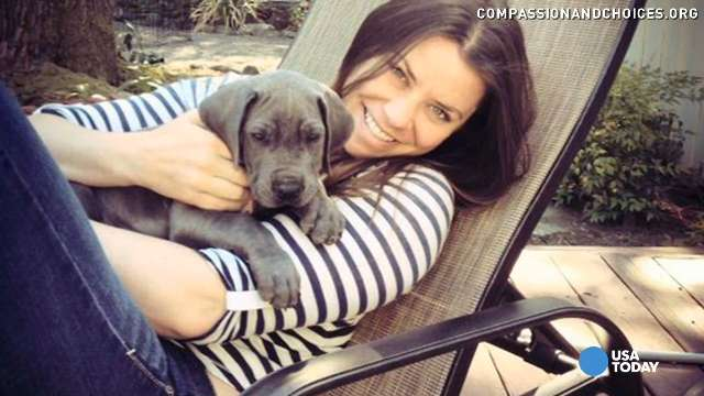 Brittany Maynard,  29, who is terminally ill, has put off plans to take her own life under Oregon's death with dignity law.