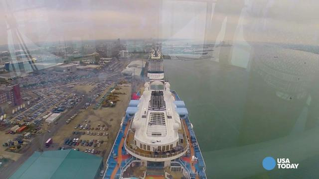 Experience Quantum of the Seas' North Star in 60 seconds