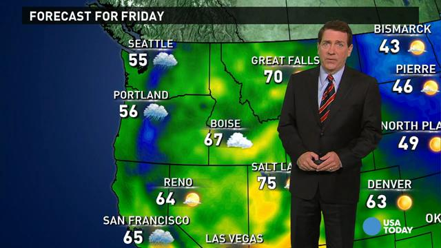 Friday's forecast: Freezing Halloween for Midwest