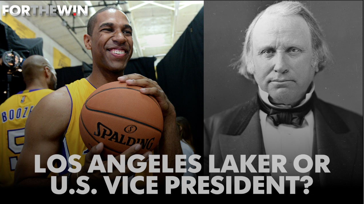 We asked fans: Is this a Laker or a Vice President?