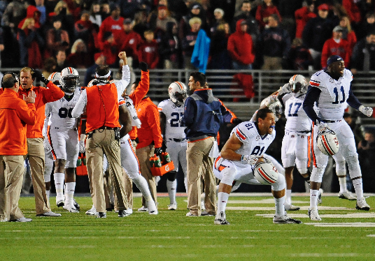 Ole Miss drops after loss to Auburn in Amway Coaches Poll