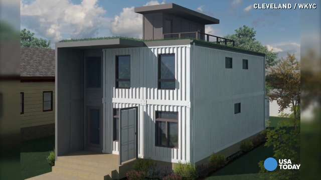 Old shipping containers turned into houses stores Containers turned into homes