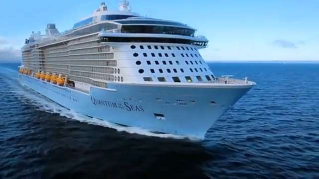 One of the world's most technically advanced cruise ships has set off on its maiden voyage from the UK.  As Melanie Ralph reports Quantum of the Seas uses luggage tracking devices, robotic bartenders and apps which let the crew keep track of all.