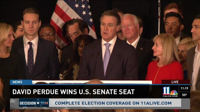 Perdue: Georgians wants someone to fight for them