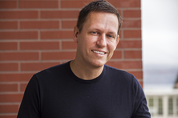 Peter Thiel discusses investing in start-ups