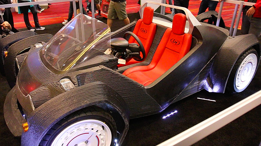 Company to make 3-D printed car