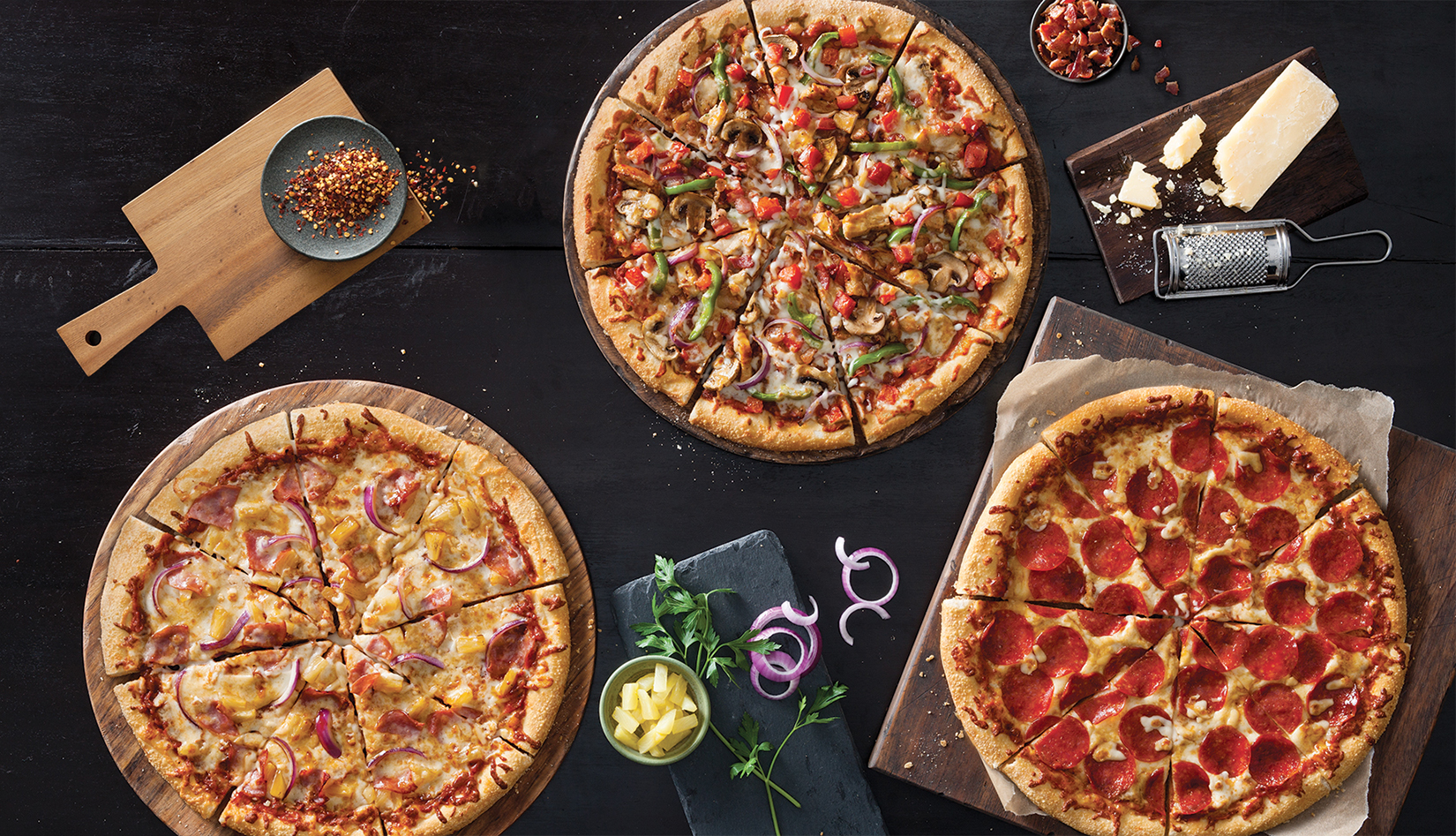Pizza Hut's extra-large menu revamp 'unusual'