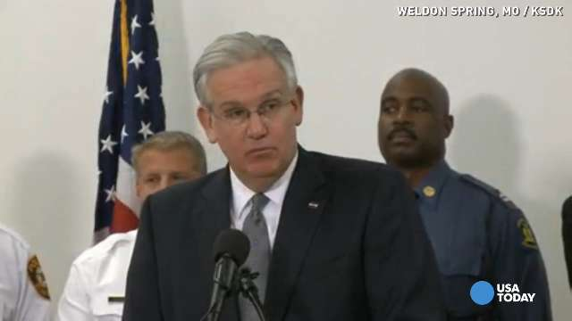 Missouri governor: 'Violence will not be tolerated'