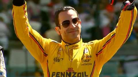 IndyCar driver discusses 'Dancing With The Stars,' celebrating and meeting Pope John Paul II.
