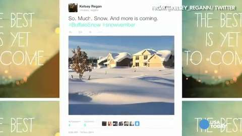 #Snovember: Social chronicles record snowfall in Buffalo | USA NOW