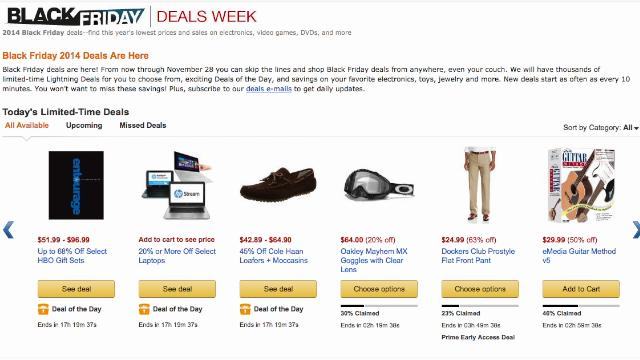 The best online shopping black friday deals for Best online shopping sites in usa