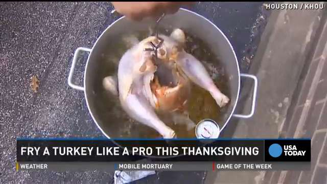 Here's how to fry a Thanksgiving turkey like a pro