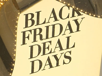Black Friday? Holiday shopping already here