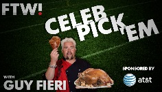 Celeb Pick 'Em Week 13 with Guy Fieri