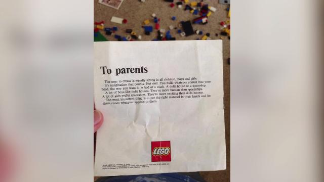 LEGO confirms viral 1970s note to parents is authentic