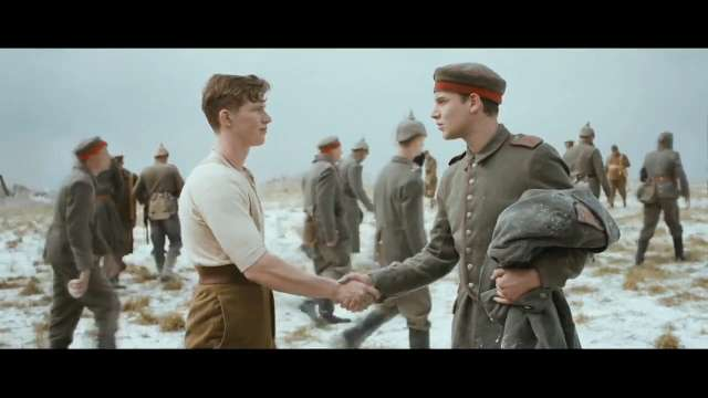 wwi inspired christmas ad by sainsburys sparks outrage - Wwi Christmas Truce