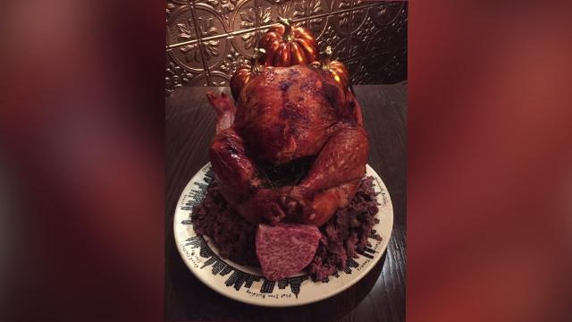 Indulge with this $35,000 thanksgiving Feast