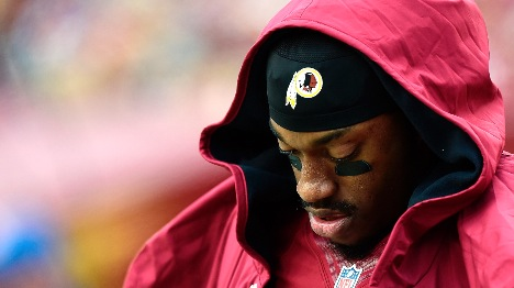 Is RG3 out for good in Washington?