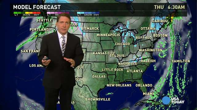 Thanksgiving Day forecast: Cold and rainy turkey day