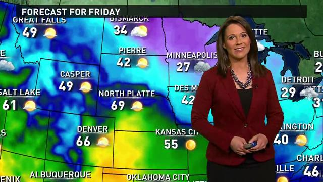 Black Friday forecast: Storm moves through West