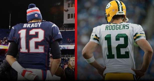 Brady vs. Rodgers: Who will triumph?