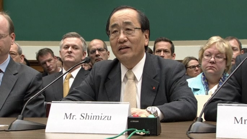 'We are deeply sorry' - Takata Corp executive