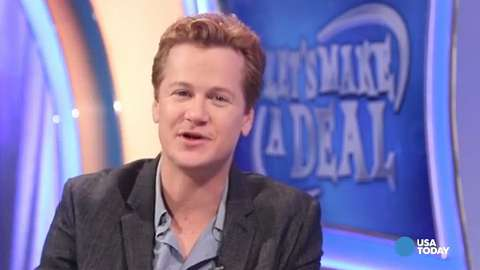 """Jonathan Mangum is the co-host of CBS's """"Let's Make a Deal."""""""
