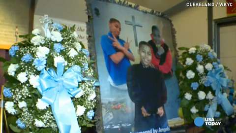 Family says goodbye to boy killed by Cleveland police