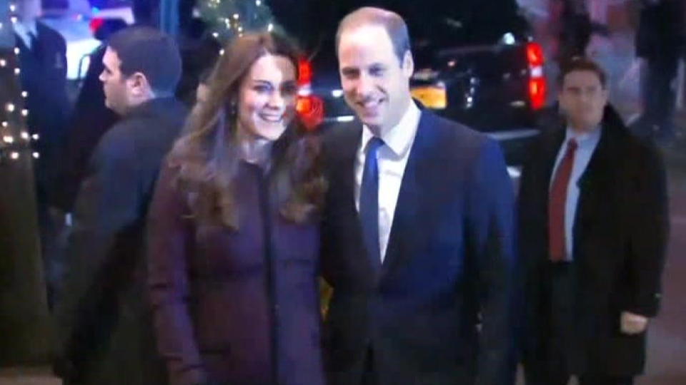 Prince William and wife make first New York visit